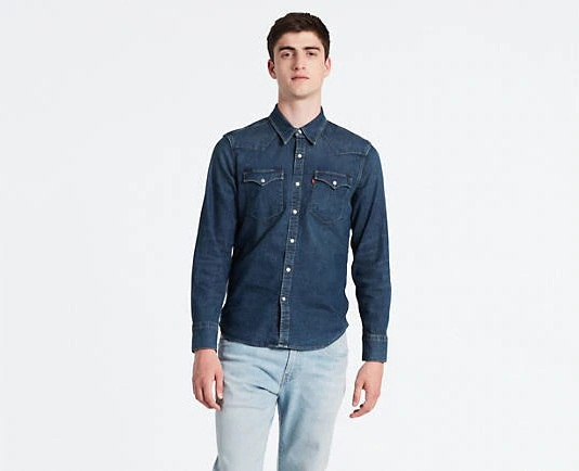 separation shoes 78d2f 1f4a5 Camicia di Jeans Barstow Western - Levi's