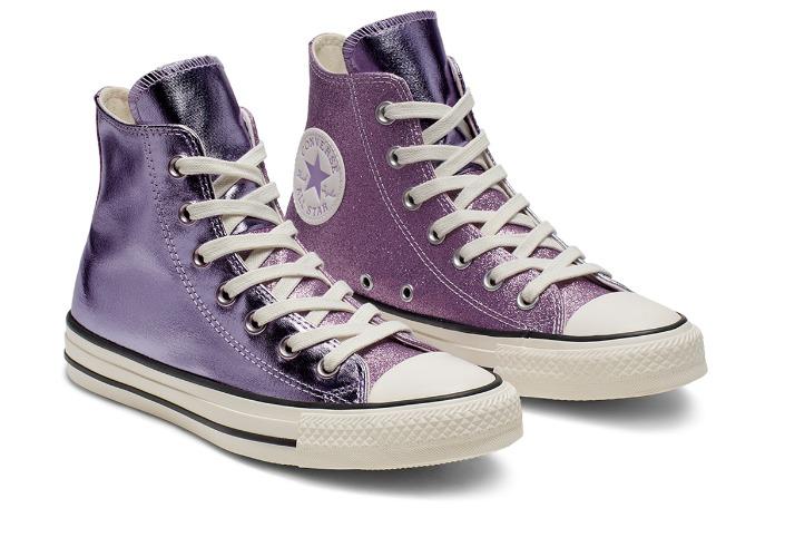 Converse All Star Felpa viola